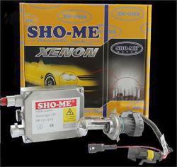 Лампа биксенон SHO-ME H4-БИ6000К