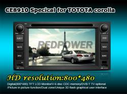 Штатное головное устройство Toyota Redpower 8910