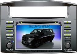Штатное головное устройство Toyota LandCruiser 100 TLC Redpower 7023HD