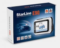 Автосигнализация с обратной связью и автозапуском Starline E90