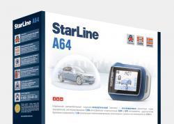 Автосигнализация с обратной связью StarLine A64
