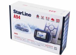 Автосигнализация с обратной связью и автозапуском StarLine A94