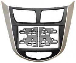 Переходная рамка 2 DIN Hyundai Solaris 2011 Intro RHY-N19