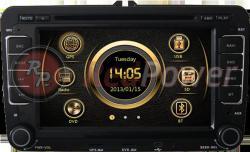 Штатное головное устройство Redpower 12004 для Skoda