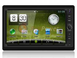 Штатное головное устройство (Универсальное) Redpower CarPad DUOS 2 din Wince + Android 4.1 1024*600