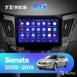 Штатное головное устройство Android 8.1 Teyes CC2L для Hyundai Sonata